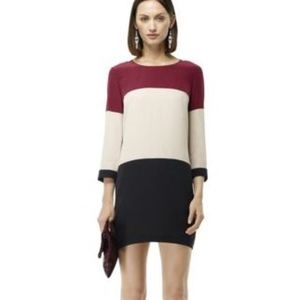 Club Monaco Hilda Color-Blocked Dress